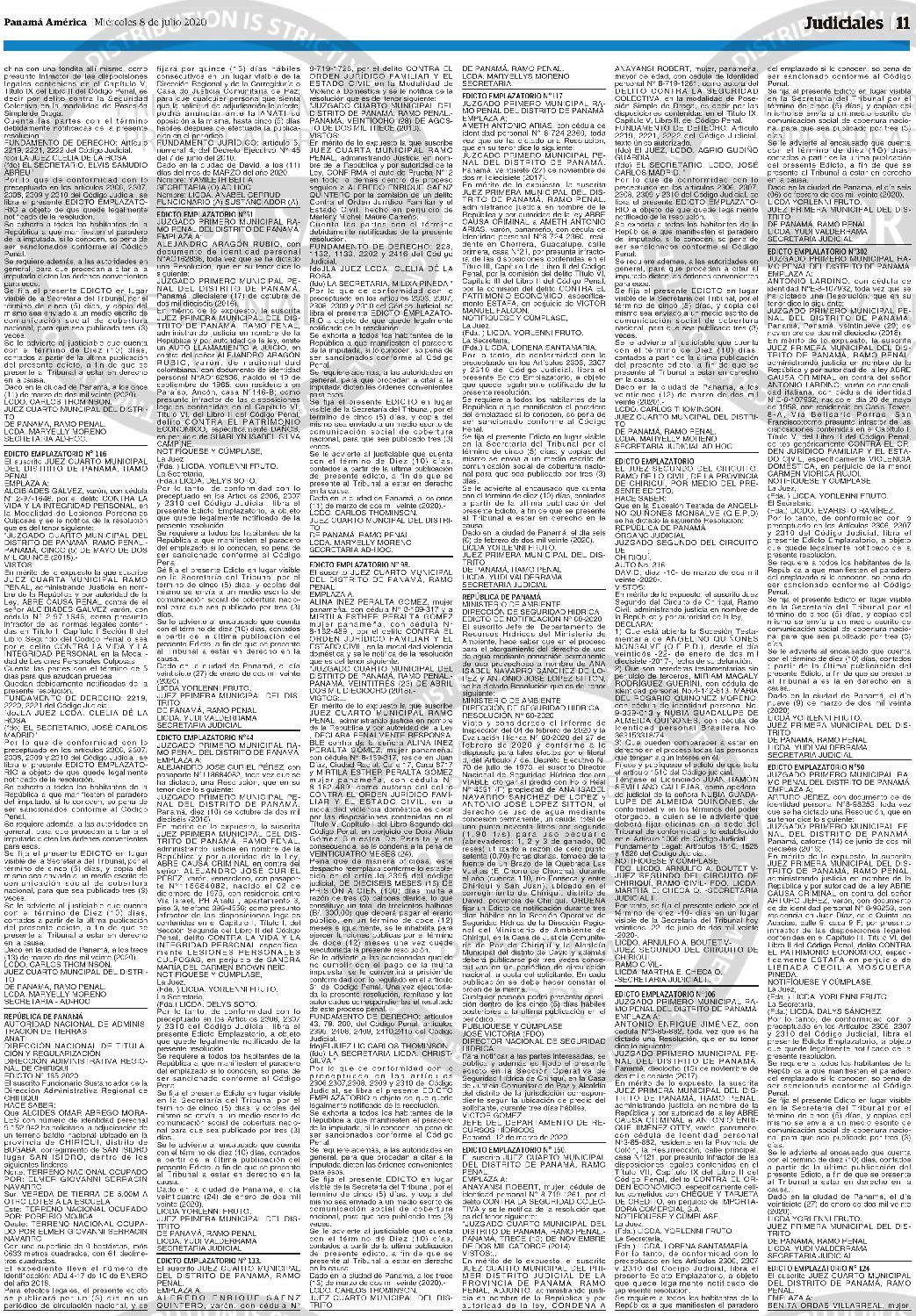 publicar edictos panama